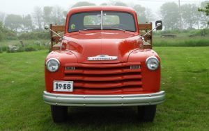 Family Farm Grown 1948 Chevrolet 3800 Series Truck Front